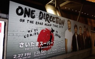One Direction さいたま遠征