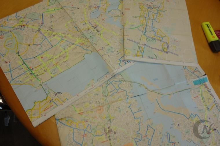 オークランドシティのマップ