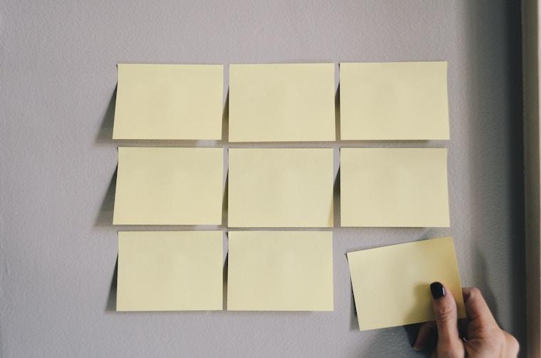 リストを整えるイメージ