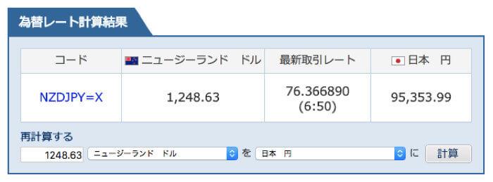 為替レート(2018年3月5日付)