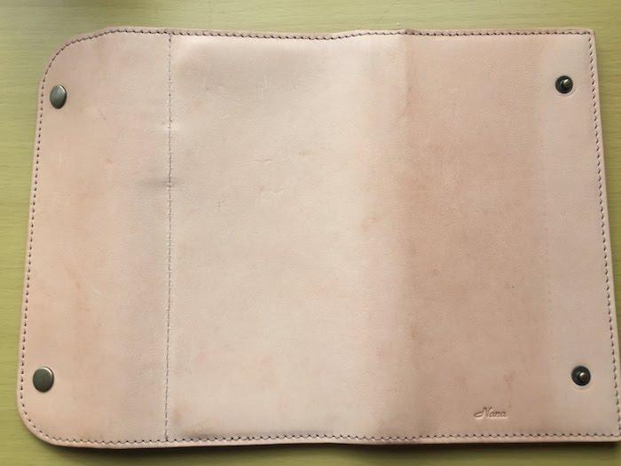 1ヶ月半使用したほぼ日手帳カバー