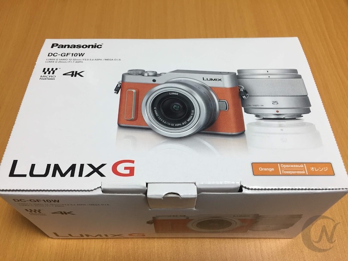 LUMIX GF10 パッケージ