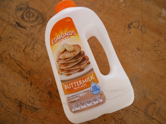 EDMONDS(エドモンズ)のパンケーキミックス。バターミルク味。
