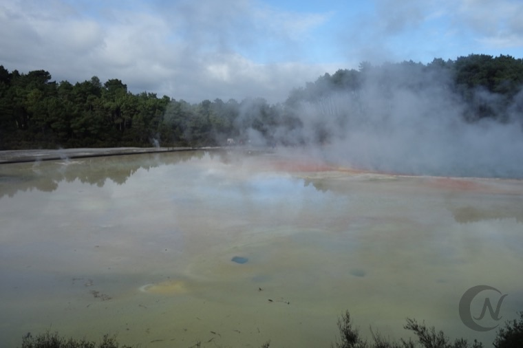 Rotoruaの温泉