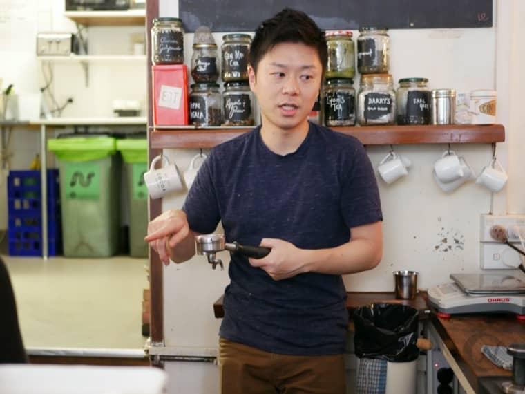 Remedy Coffee 日本人バリスタ カズさん