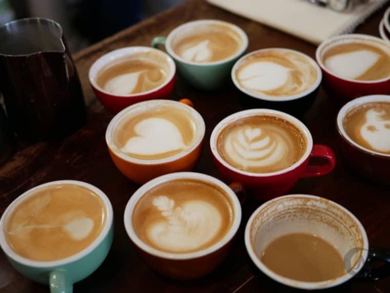 Remedy Coffee コーヒー教室の様子